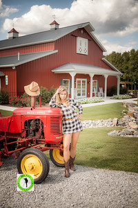 Raleigh Photographer and Model Ashley Zung at Wedding Venue Carrllock Farms llc