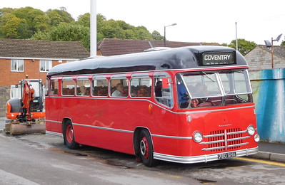 Midland Red 780GHA - Warminster (Market Place car park)
