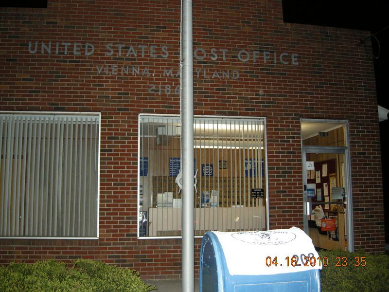 Vienna, MD Post Office<br /> Vienna, MD