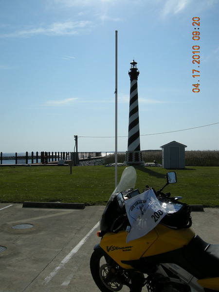 Replica of Cape Hatteras Lighthouse<br /> Alligator, NC