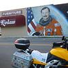 Lt. Col Brown mural - Elizabethtown, NC