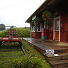 Arundel - pic of old RR station converted to Post Office with RR equipment