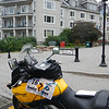 Mont Tremblant - pic of post box in front of Country Inn & Suites