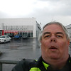 Hawkesbury - self portrait with Rendez Vous Nissan sign in background