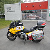Berthierville - pic of bike in front of Museum