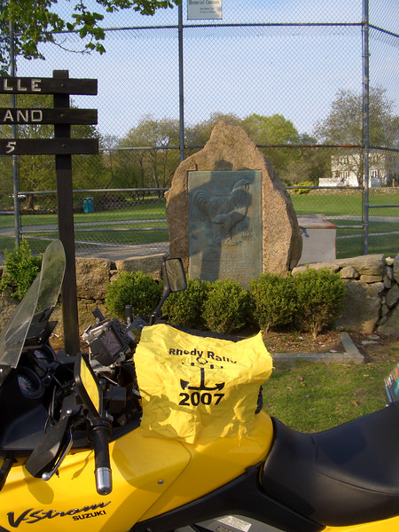 RR1 - Rhode Island Red monument<br /> Little Compton, RI