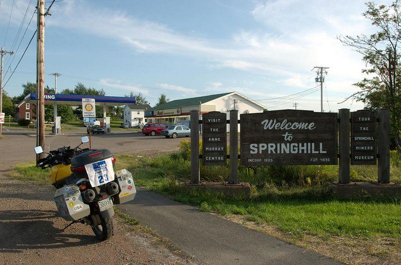 Springhill, Nova Scotia