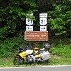 US 21 at intersection with Blue Ridge Parkway in North Carolina