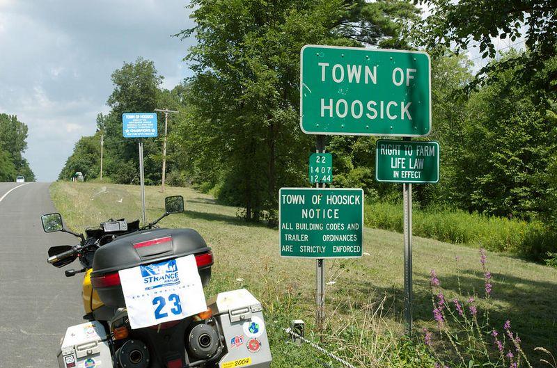 Hoosic, New York