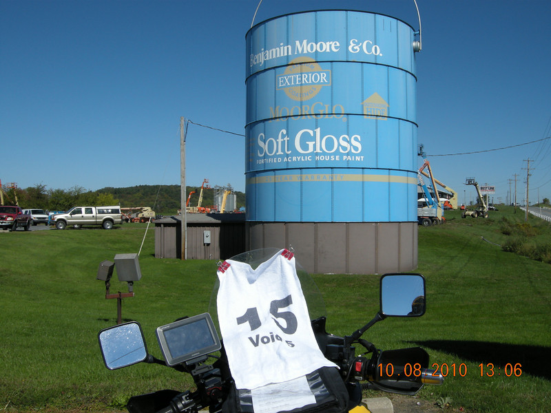 Giant Paint Can<br /> Shippensburg, PA<br /> 50 Points