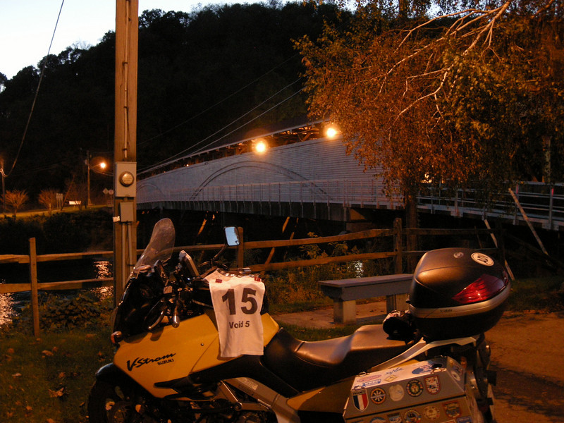 Philippi Covered Bridge<br /> Philippi, WV<br /> 150 Points