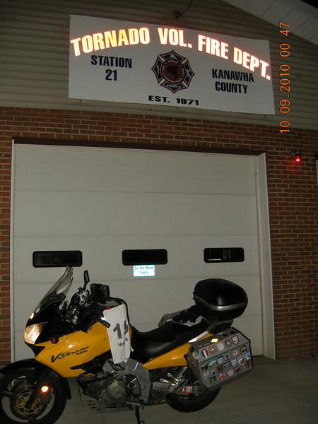 Tornado Volunteer Fire Department<br /> Tornado, WV<br /> 50 Points