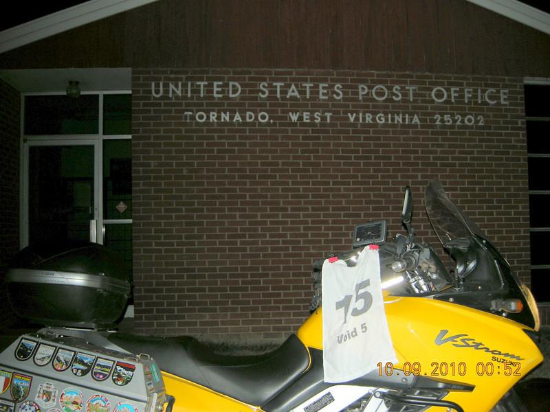 Tornado Post Office<br /> Tornado, WV<br /> 53 Points