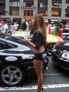 Fast cars and pretty girls go together like peas and carrots.... or gin and tonic.