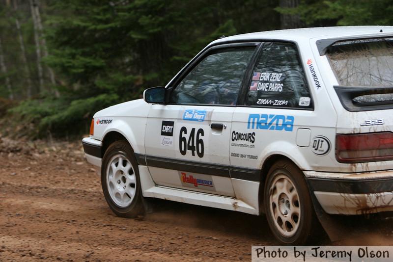 """Car 646""Erik Zenz / Dave Parps"