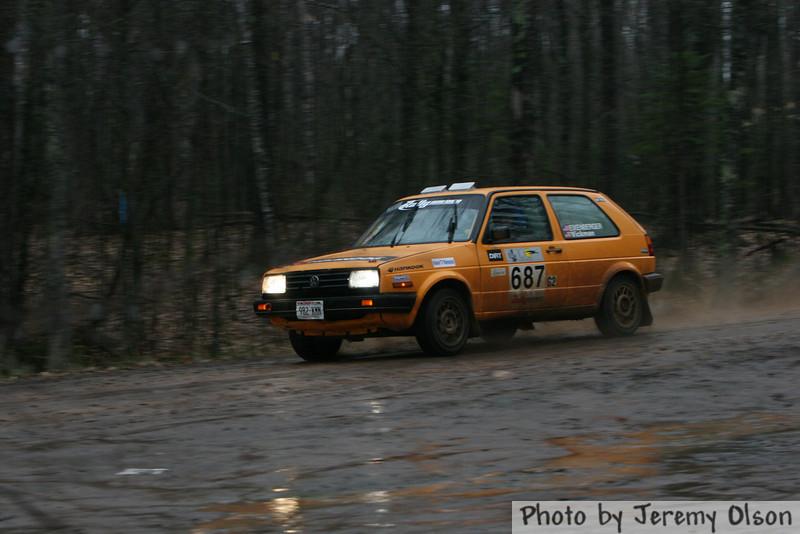 """""""Car 687""""Chad Eixenberger / Colin Vickman"""