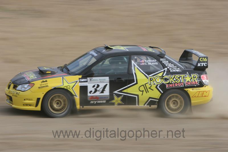 """Tanner Foust / Christine Beavis """"Car 34"""""""