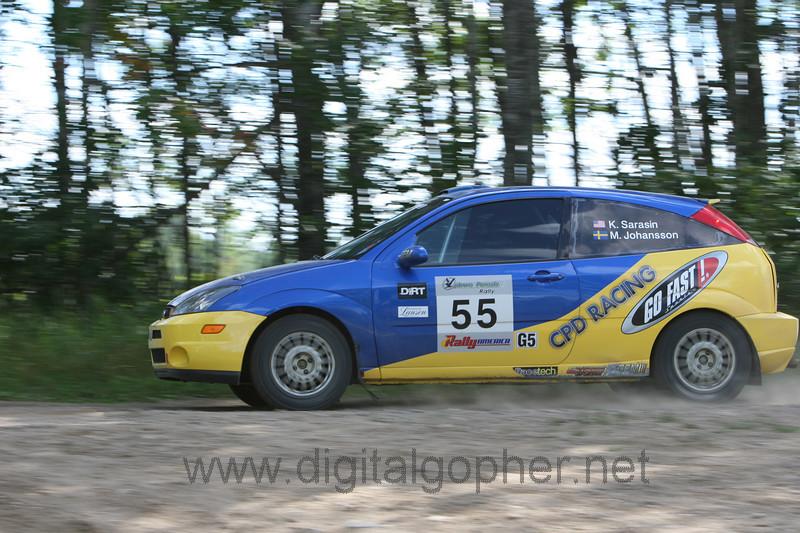 """Kyle Sarasin / Mikael Johansson """"Car 55"""""""