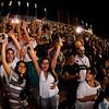 O público vibra enquanto assiste ao desafio doo Super Prime, a grande largada promocional e abertura do Rally Internacional dos Sertões 2010 que aconteceu em Goiânica. O evento tem inicio na cidade de Goiânia (GO) no dia 11/08 e encerra no dia 20/08, na cidade de Fortaleza (CE). Goiânia/GO, Brasil - 10/08/2010. Foto: Theo Ribeiro / Fotoarena