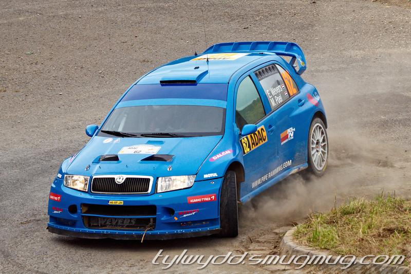 Equipage n°62<br /> <br /> WEVERS Erik <br /> VAN WEEREN Jalmar<br /> <br /> SKODA Fabia WRC 05