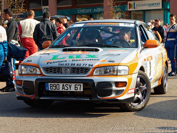 N°8<br /> <br /> STIRLING Jean-Bernard <br /> DURAND Benoît <br /> <br /> Subaru Impreza GT
