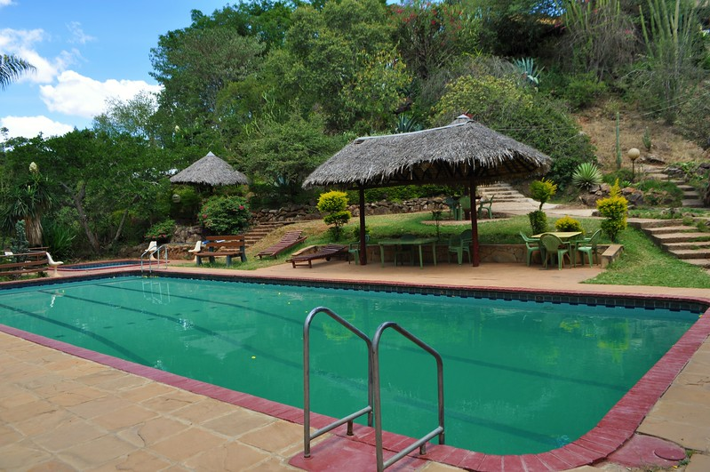 The pool at the Masai Lodge where we went for lunch the other day. Amazing!!!