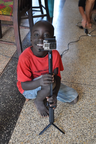 Sweet 6 yr old Sampson enjoyed learning how to use our camera equipment, and got some great footage.