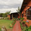 The beautiful Pundas Milias resort in Kenya near Soysambu Conservancy.