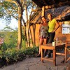 Can you believe this was taken on my first day in Africa?! Lorraine lined up this gorgeous home for the week where she used to live 13 years ago at the edge of the Nairobi National Park.