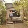 "Lorraine loves her ""banda"" cottage-like tent at Punda Milias Resort in Kenya."