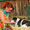 Lorraine Chittock has an emotional reunion with her favorite African doggies at Karen Camp.