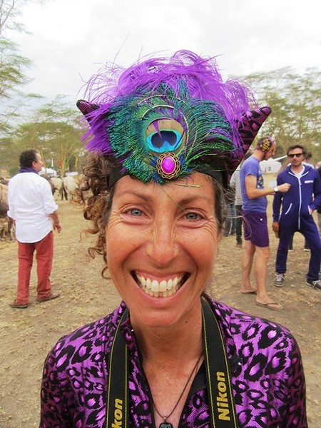 Ear-to-ear smiles at the fun Soysambu Wild Festival to support the animals and peace.