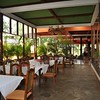 The elegant dining at the Masai Lodge Restaurant right next door to our Kitengela home for the first week of the shoot.