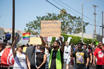 Venice Beach Rally Against Hate