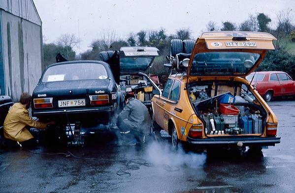 Saab service for Blomqvist