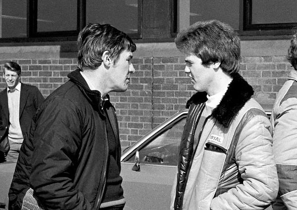 John Taylor and Malcolm Wilson