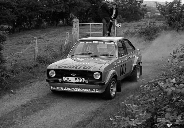 Bertie Fisher - Course car
