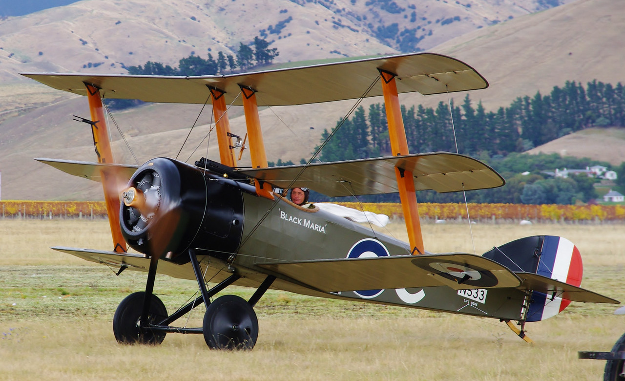 Sopwith Triplane, Omaka Classic Fighters, 2011.