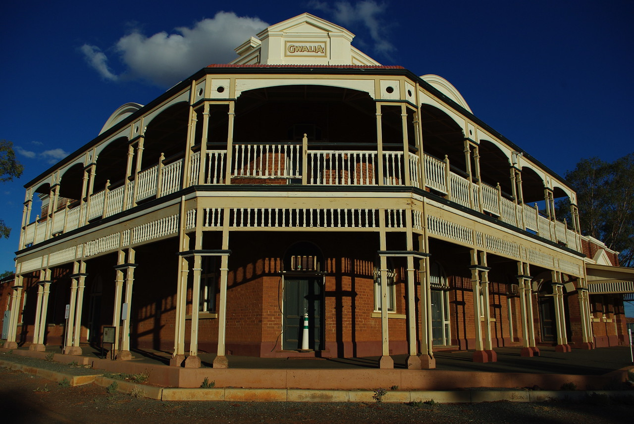 Gwalia Hotel, Leonora, WA