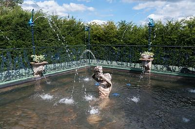 Triron pool fountains