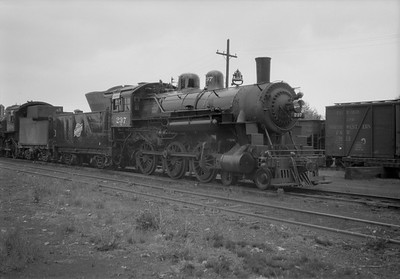2021.001.NO.03.001--ralph wehlitz 6x9 neg [photographer unknown]--C&NW--steam locomotive 4-6-0 R-1 237 (dead)--Antigo WI--no date