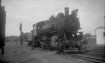 2021.001.NO.04.001--ralph wehlitz 3x5 neg [photographer unknown]--CStPM&O--steam locomotive 0-6-0 M-2 50--Marshfield WI--no date