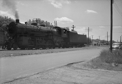 2021.001.NO.04.012--ralph wehlitz 6x9 neg [photographer unknown]--CStPM&O--steam locomotive 2-8-2 J-A 408--Merrillan WI--no date