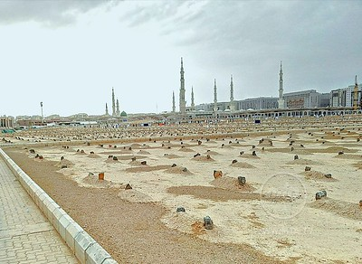 Janat al-Baqi, the Graveyard of Medina