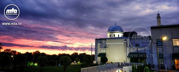 Sunrise at Baitur Rahman Mosque, Maryland