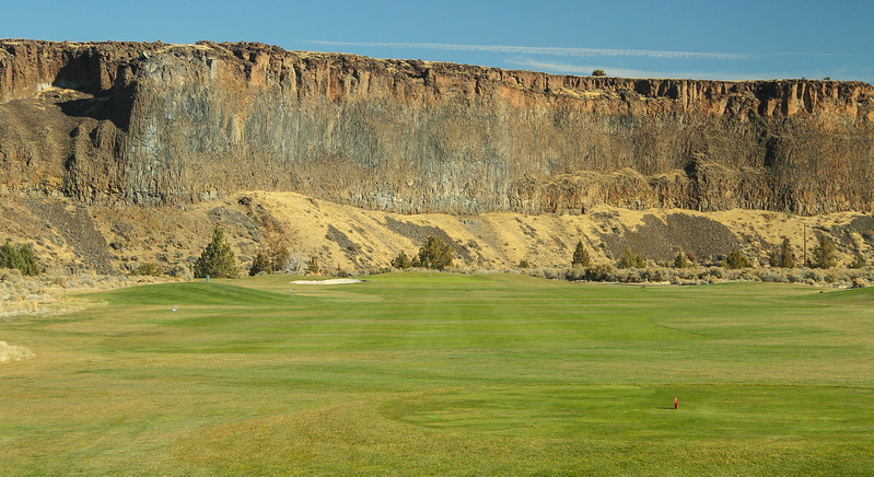 12th hole, Crooked River Ranch, Pat Huffer PGA pro