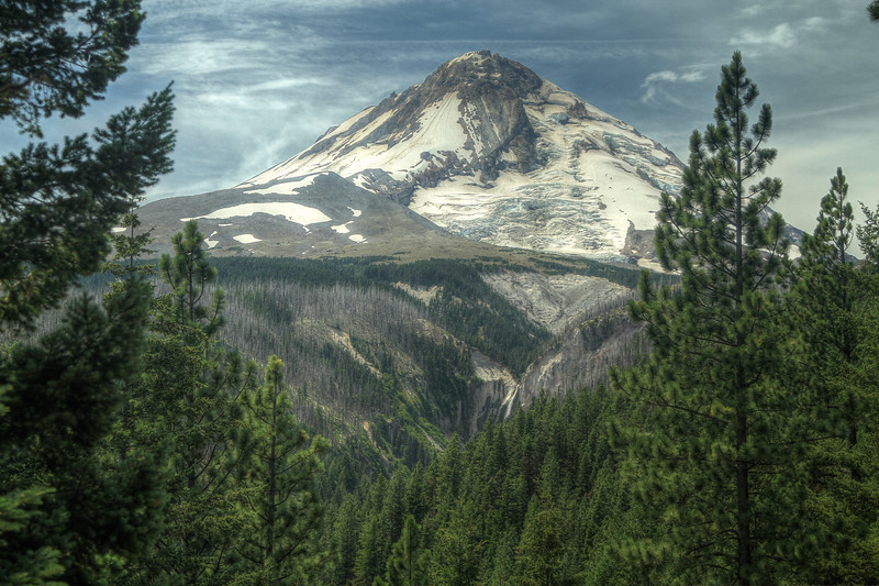 North side of Mt Hood, from Copper Spur.