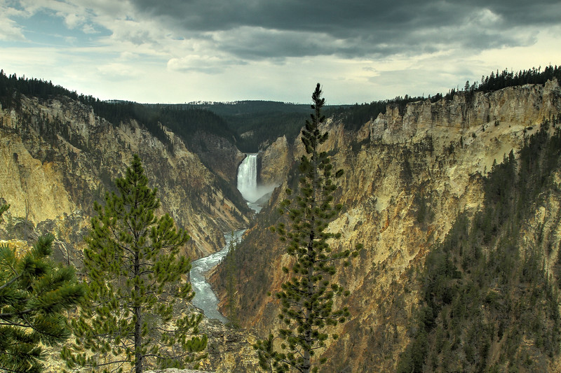 Grand Canyon of the Yellostone