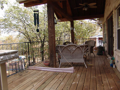 The other end of the deck