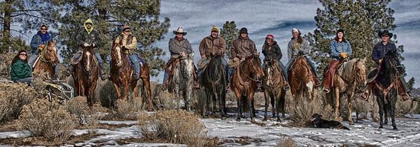 the posse ...